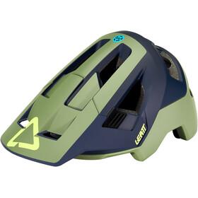 Leatt DBX 4.0 All Mountain Casco, verde oliva/blu